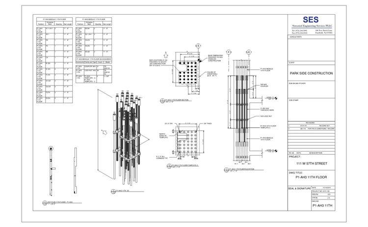 111 West 57th 5 24 Sheet P1 Ah3 11th P1 Ah3 11th Floor