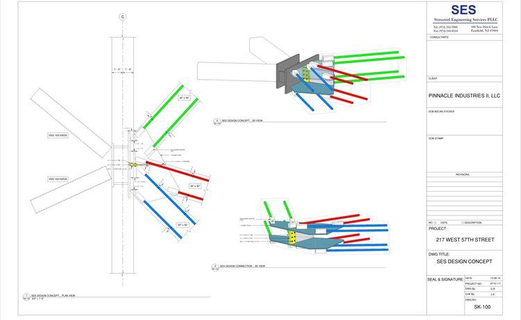 217 W 57th Sheet Sk 100 Ses Design Concept
