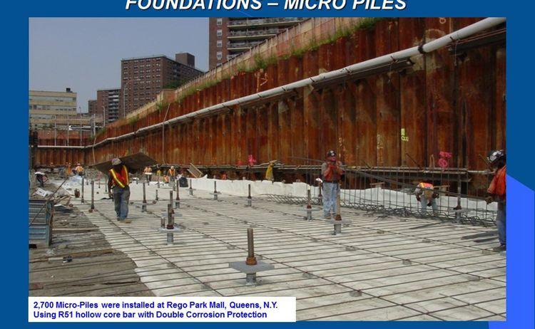 Micro Pile Foundation